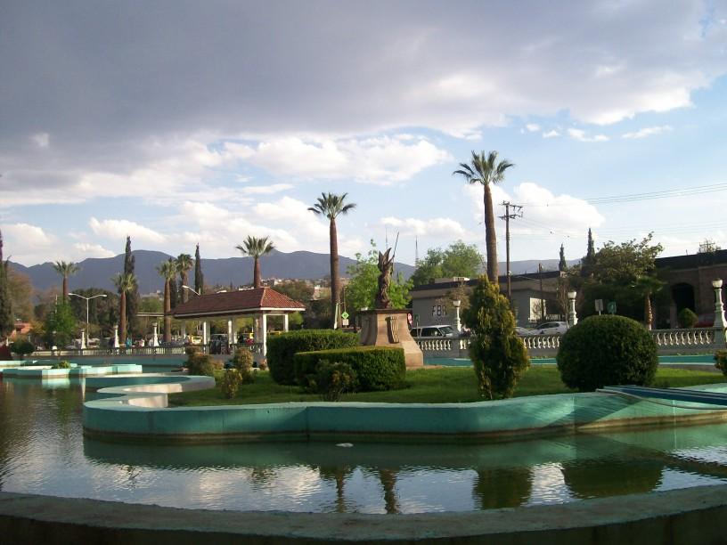 Lake at the Alameda Zaragoza, Saltillo, Coahuila, Mexico