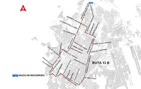 ruta 13B